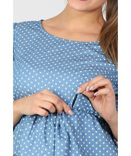 maternity and breastfeeding dress celena 2