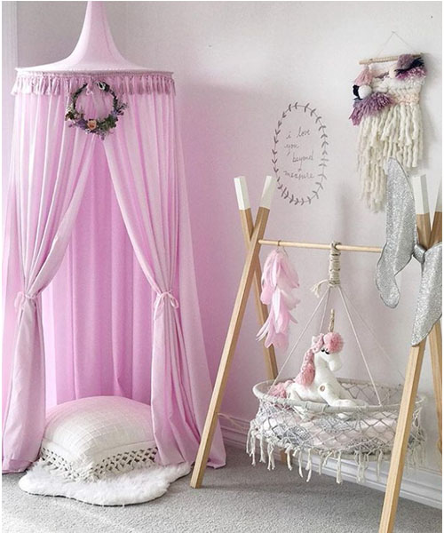 Bed Canopy Lilac