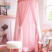 kids bed canopy freddie and ava - pink5