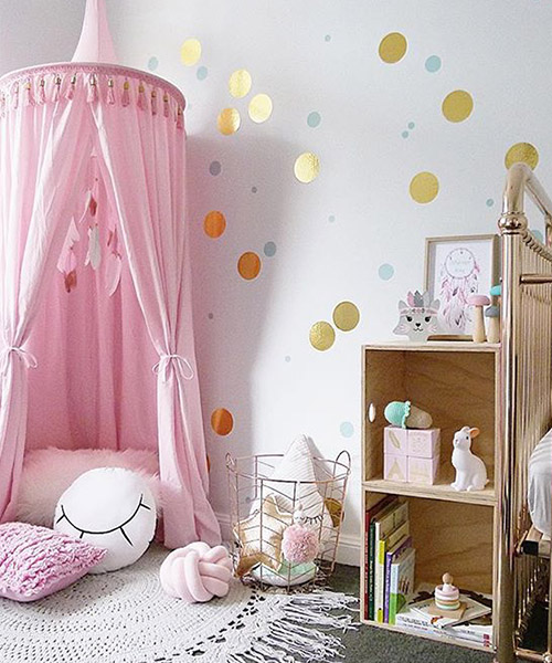 pink7 & Bed Canopy Pink | Play Canopy | Mum And Baby Boutique