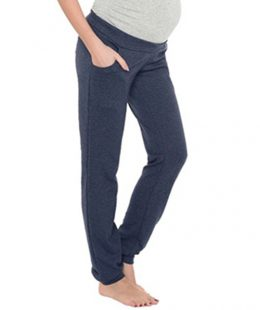 maternity casual pants grey