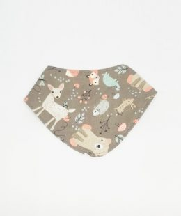bandana bib nz - forest friends