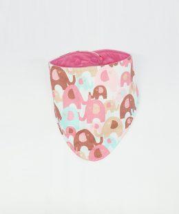 infant bib - elephants