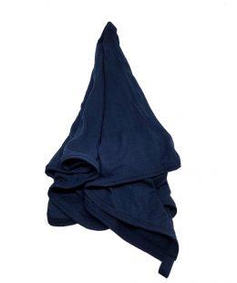 merino wrap, merino swaddle, merino blanket nz navy blue