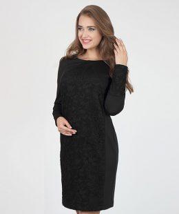 formal maternity dress - alen black