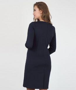 formal maternity dress nz alen navy blue