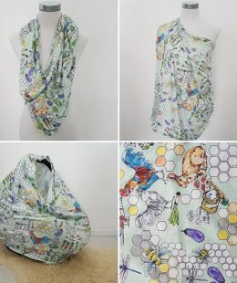 honeycomb farm breastfeeding cover