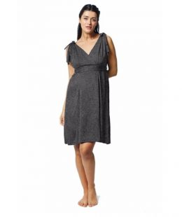 pretty pushers labor and delivery gown nz - grey