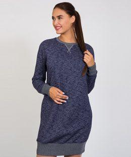 warm maternity tunic dress sava