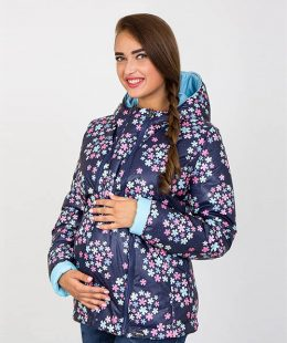 maternity puffer jacket floyd flowers