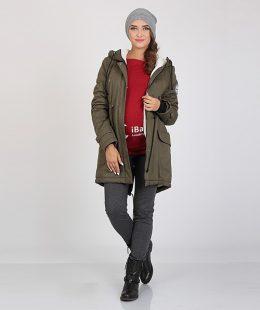 maternity parka jacket khaki