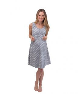 labor and delivery gown molly - mum and baby boutique
