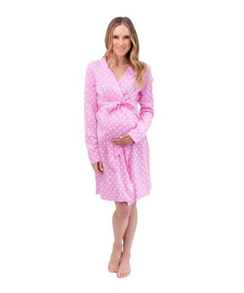 078f72422e02e Maternity And Breastfeeding Robe Molly | Mum And Baby Boutique