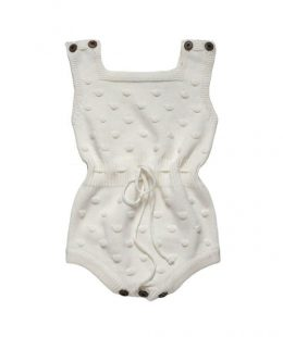 knitted baby romper - mum and baby boutique