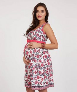 maternity dress beyonce red - mum and baby boutique