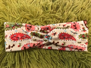 Colourful Cream Baby Headband