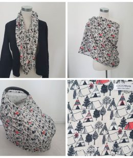 Teepee Breastfeeding Cover